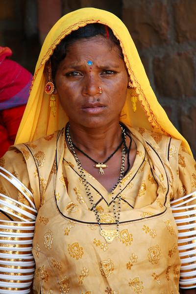 Villager of the Thar Desert<br /> Rajasthan