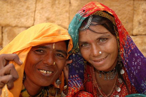 Sisters<br /> Jaisalmer, Rajasthan
