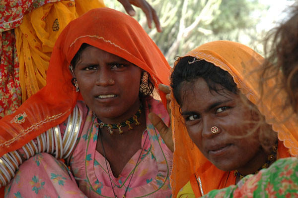 Women of the Thar Dessert<br /> (aka the Great Indian Desert or Marusthali)<br /> Rajasthan