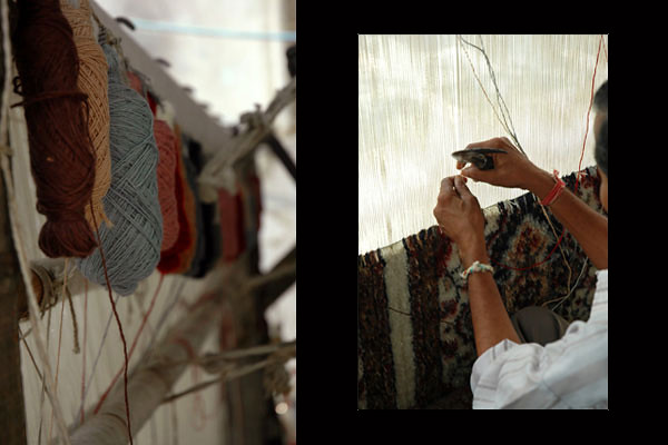 Carpet Weavers<br /> Agra, Uttar Pradesh