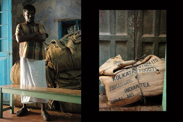 Iqbal Spice Worker<br /> Jew Town<br /> Fort Kochi, Kerala