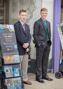 Jehovah's Witnesses, Wabash Avenue, Terre Haute, September 2015.