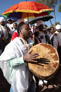 During the celebrations large processions with drums and noisy singing were the rule