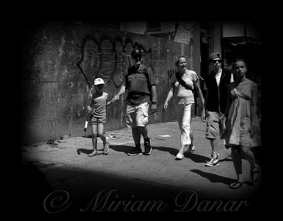 Family - New York City Street Scene
