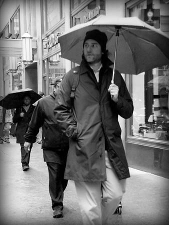 Umbrella - New York City in the Rain