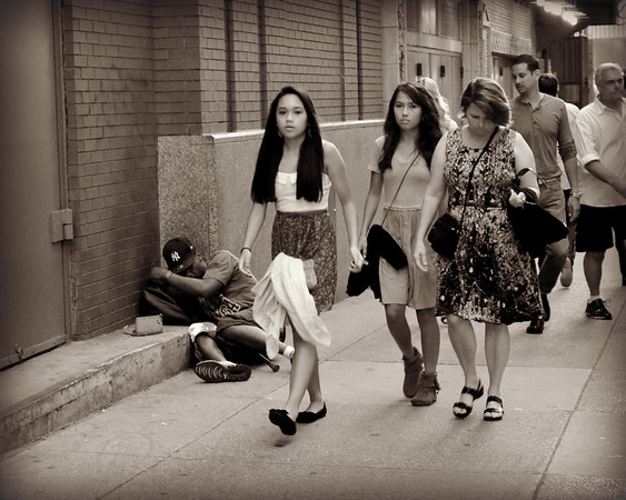 Down and Out in New York City - New York City Street Scene