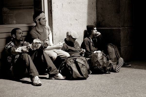 Waiting - The Sidewalks of New York