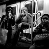 Eat and Run - Subways of New York - Street Photography