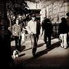 Walking the Dog - New York City Street Scene
