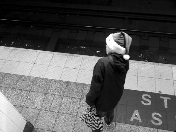 Santa Takes the Subway