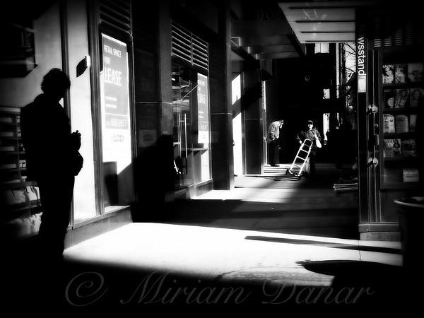 Five O'Clock New York Noir - Street Scene