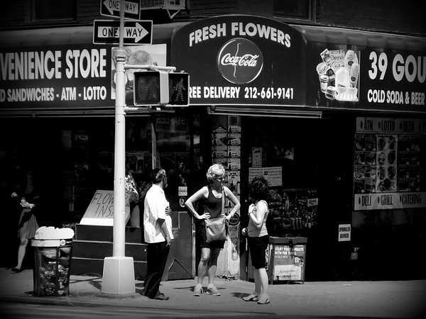 Convenience Store - New York City Street Scene