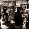 The Coffee Seller - Street Vendor - New York City Street Scene