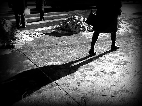 These Boots are Made for Walkin - Street Scene - Winter in New York City