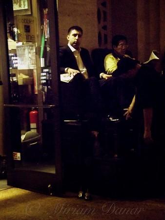 Shoe Shine Stand - New York City - Vintage New York