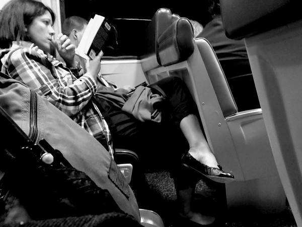 Absorbed - On the Train