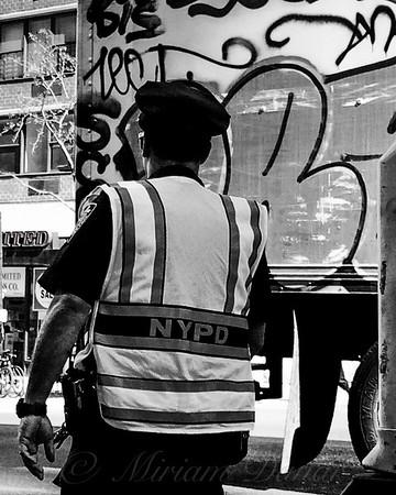 Graffiti Cop - NYPD - New York's Finest