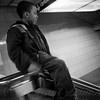 Sliding on the Rail - Subways of New York - Street Photography