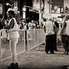 Enjoying the Nightlife - Times Square at Night - New York