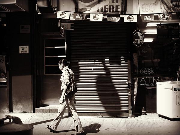 New York Lottery - Play Here - New York City Street Scene
