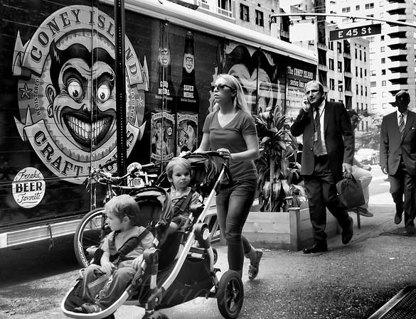 Sidewalks Of New York - Beer Truck