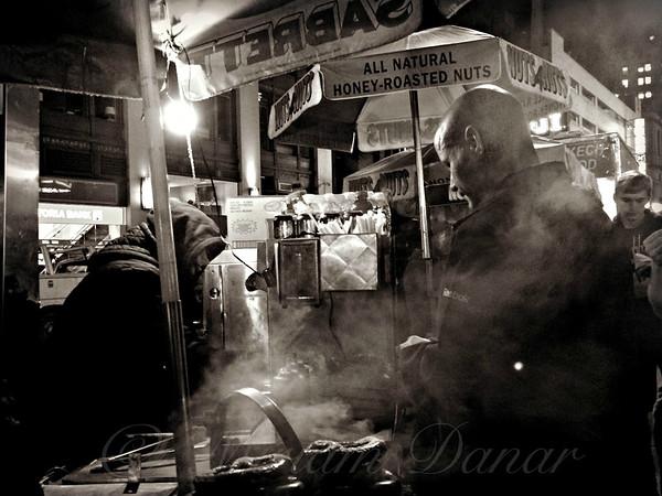 Pretzel Vendor - New York