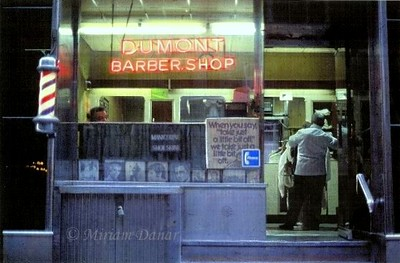 Old-time Barber Shop - NYC 1975