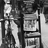 The Cig is Up - Newspaper Seller of New York