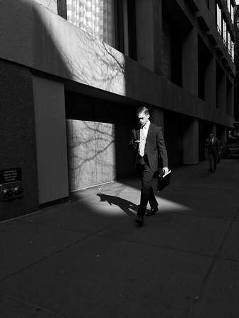 6 PM - Man Walking