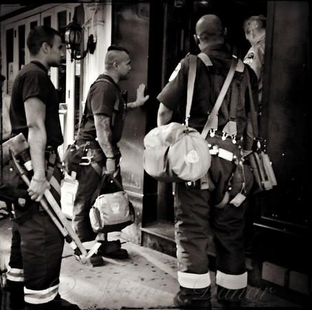 Americas Bravest - N Y C  Firefighters on the Job