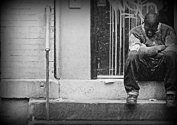 Man - New York City Street Scene - People of New York City