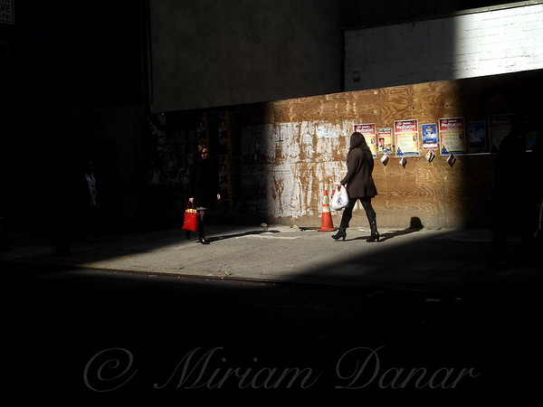 In and Out of the Shadows - New York City Street Scene