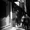 Man with Interesting Jacket - New York City Street Scene
