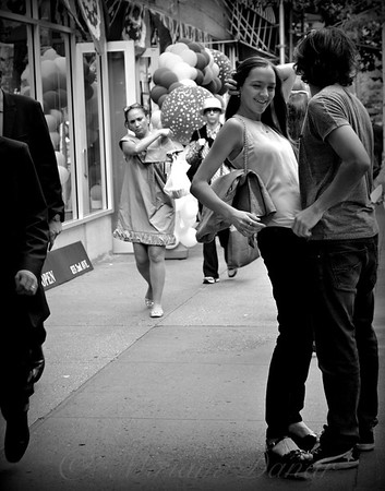 Fooling Around - Young Couple - NYC