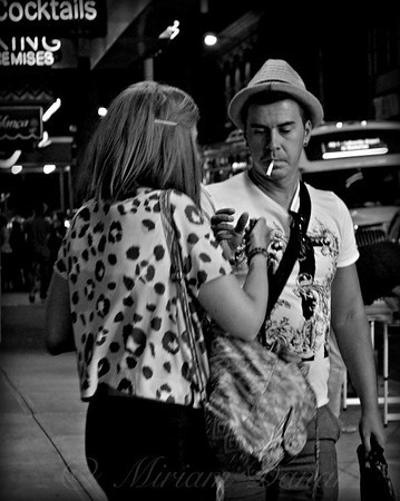 Cigarette - People of New York City