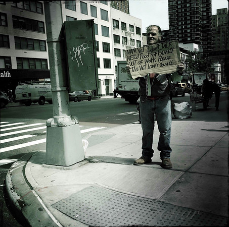 Man Out of Work - New York