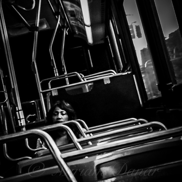 Long and Winding Road - Lady on a Bus