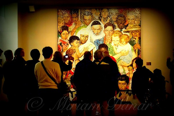 The Norman Rockwell Mosaic at the United Nations - Famous and Landmark Buildings of New York City
