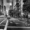 New York City Street Scene - Upper East Side with Trike