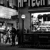 Nighthawks of New York - New York at Night - Subway Entrance