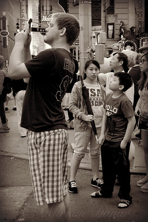 Kids in the Crowd - The Awesome That is Times Square - New York City Street Scene