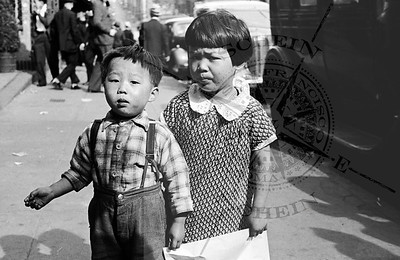 Jackson St. Residents- Brother & Sister, 600 Block Jackson C: 1938