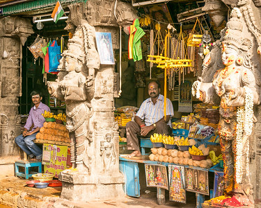 Temple Vendors
