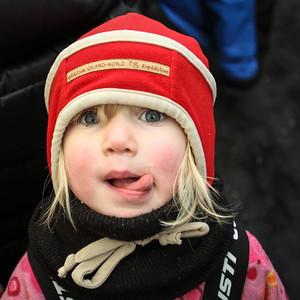 Winter Carnival Child, Quebec City, Canada