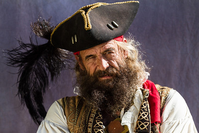 Pirate in St. Augustine, FL.