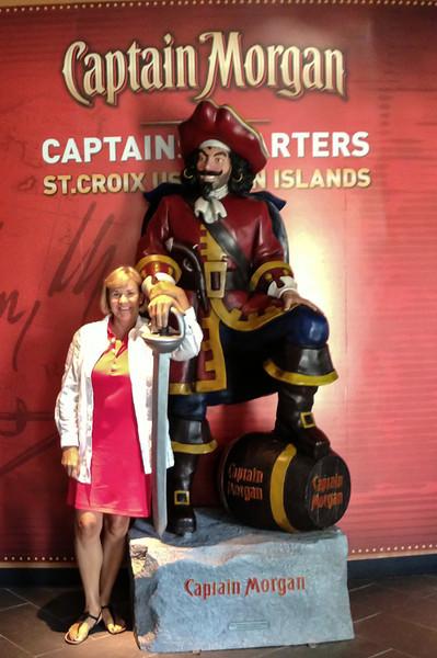 Me and the Captain, St. Croix Captain Morgan Rum Factory