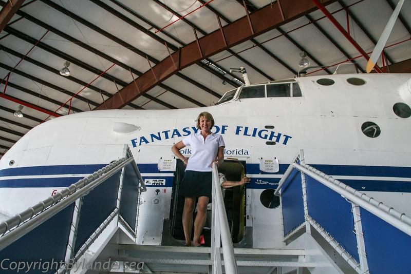 A flight attendant???