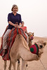 Camel riding near Abu Dhabi, UAE.