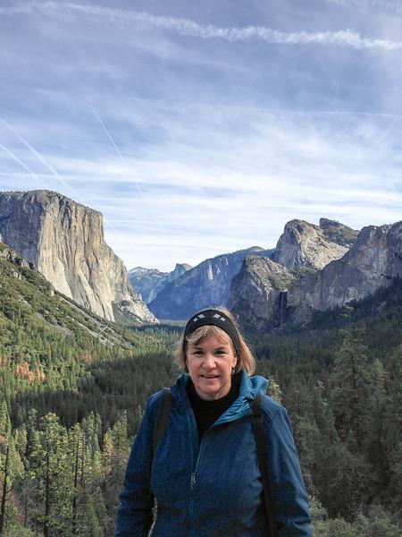 Debi at Yosemite