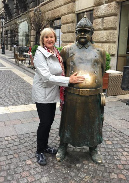 Debi in Budapest-1